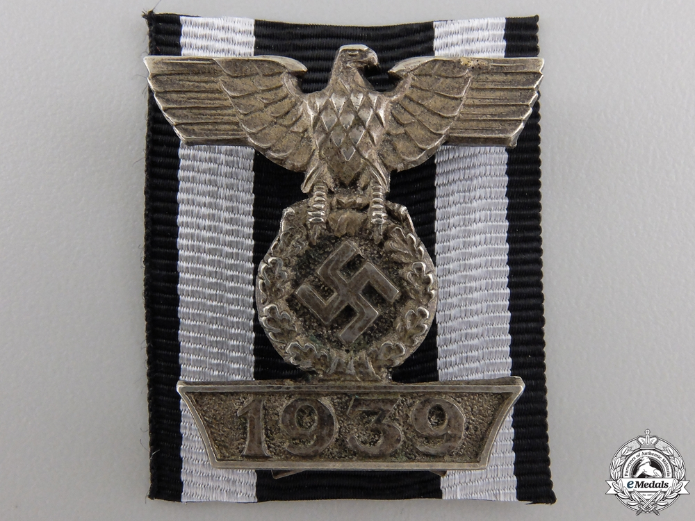 eMedals-A Clasp to the Iron Cross 2nd Class 1939; Type I