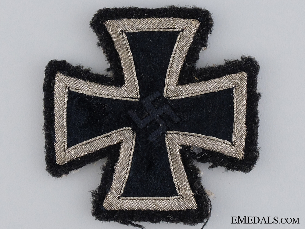 eMedals-A Cloth Version of the Iron Cross First Class 1939