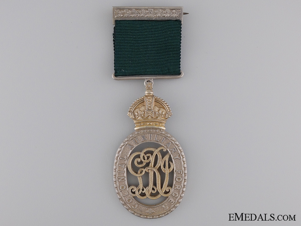 eMedals-A Colonial Auxiliary Forces Officers Decoration to the 23rd Regiment
