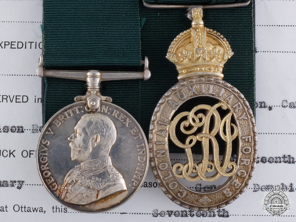 eMedals-A Colonial Auxiliary Forces Pair to the 94th Victoria Regiment
