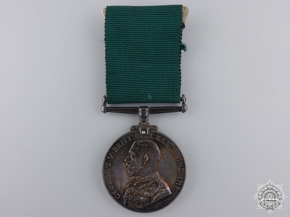 eMedals-A Colonial Auxiliary Forces Long Service Medal to Major Ogden