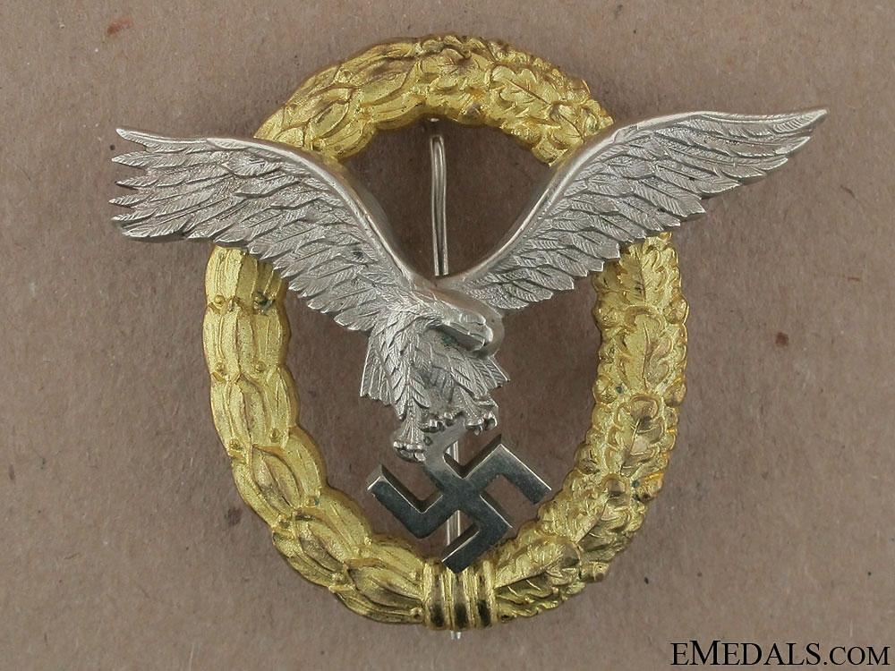 eMedals-A Combined Pilot's & Observers Badge