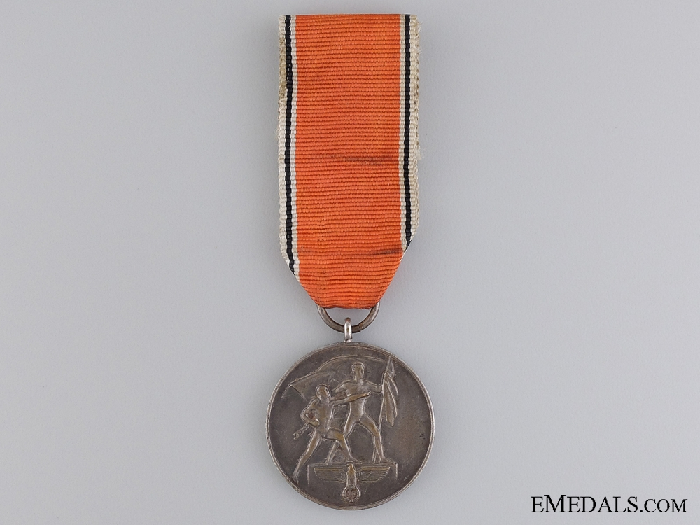 eMedals-A Commemorative Medal 13 March 1938