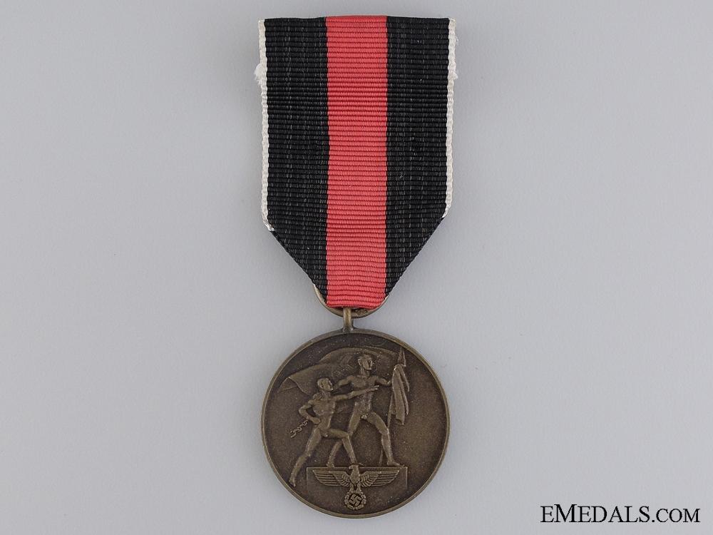 eMedals-A Commemorative Medal 1. October 1939