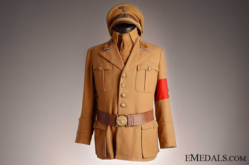 eMedals-A Complete Ortsgruppe Level SA Uniform