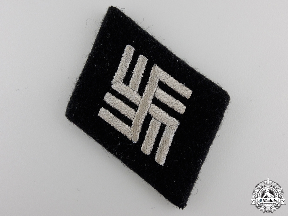 eMedals-A Concentration Camp SS Personnel Collar Tab