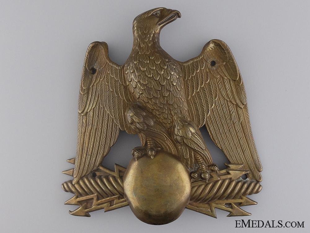 eMedals-A Crimea War Period French Shako Helmet Plate