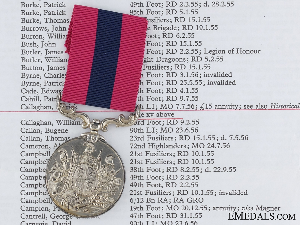 eMedals-A Crimean War Distinguished Conduct Medal to the 13th Foot