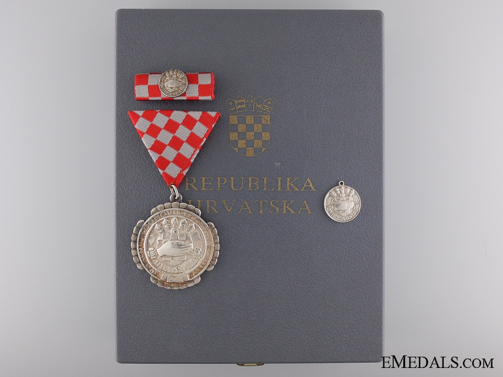 eMedals-A Croatian Homeland Gratitude Decoration