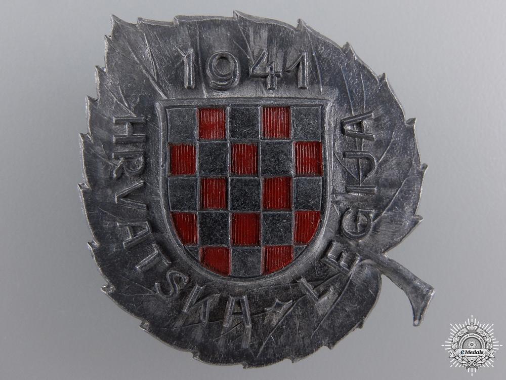 eMedals-A Croatian Legion in Russia (German Units) Badge