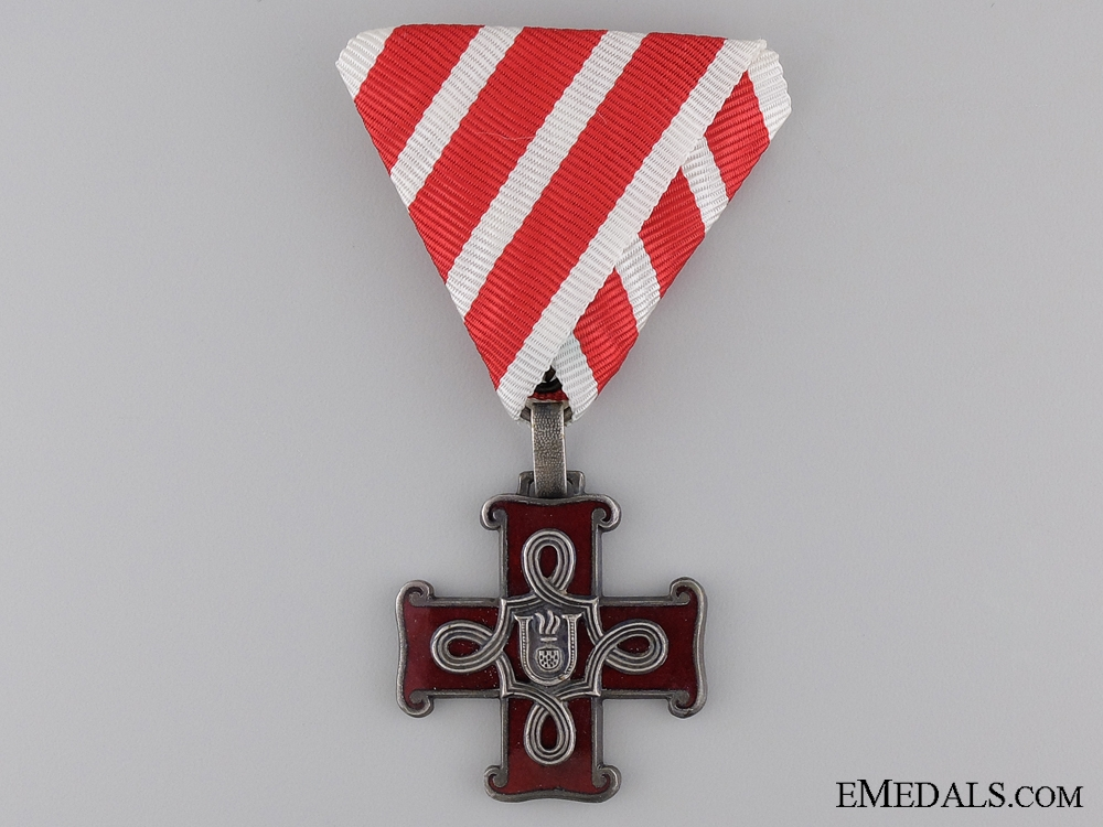 eMedals-A Croatian Order of Merit; Christian Version; Third Class Cross