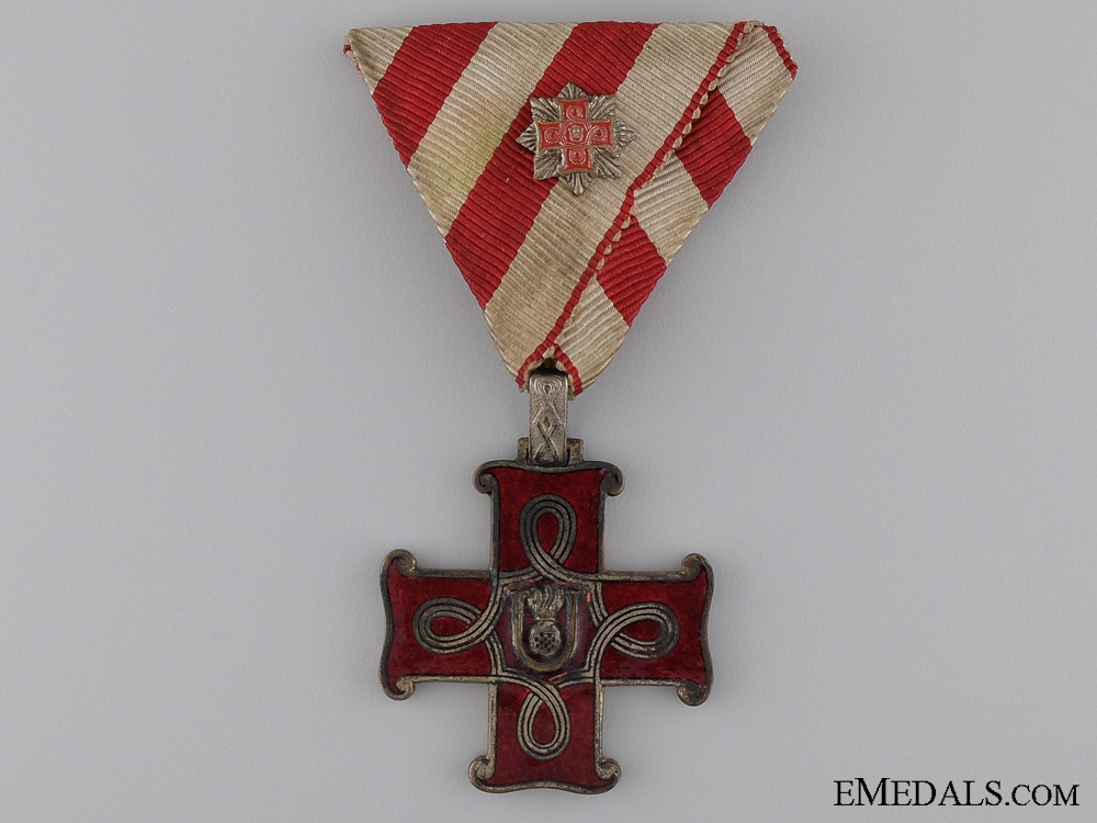 eMedals-A Croatian Order of Merit Third Class with Miniature Grand Cross