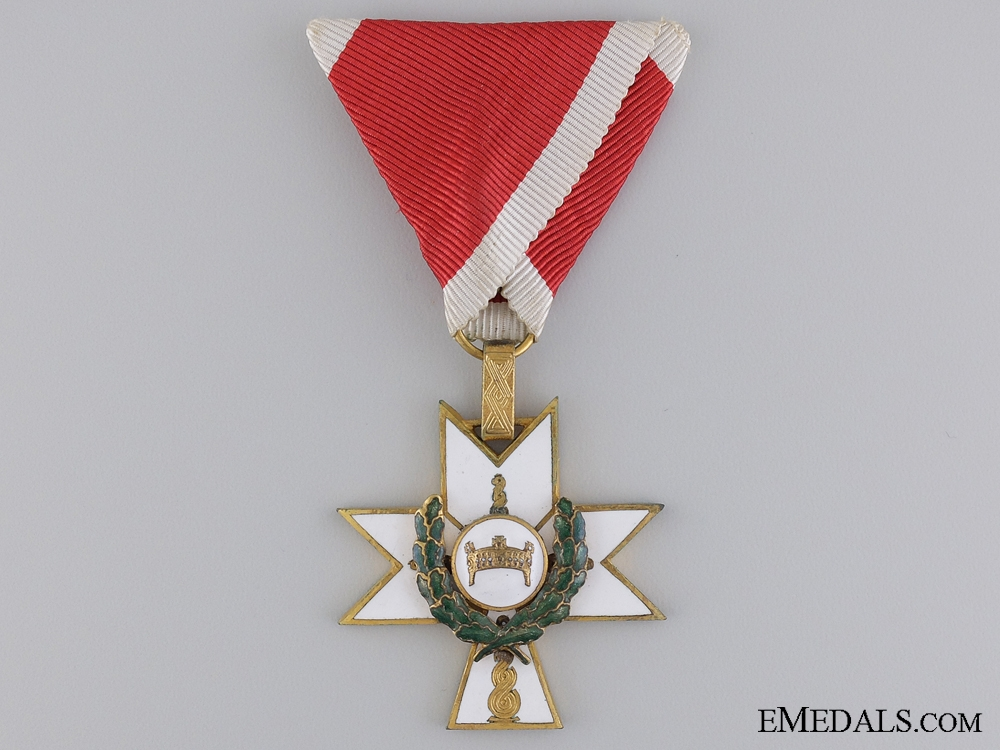 eMedals-A Croatian Order of King Zvonimir 1941-45; Third Class Knight