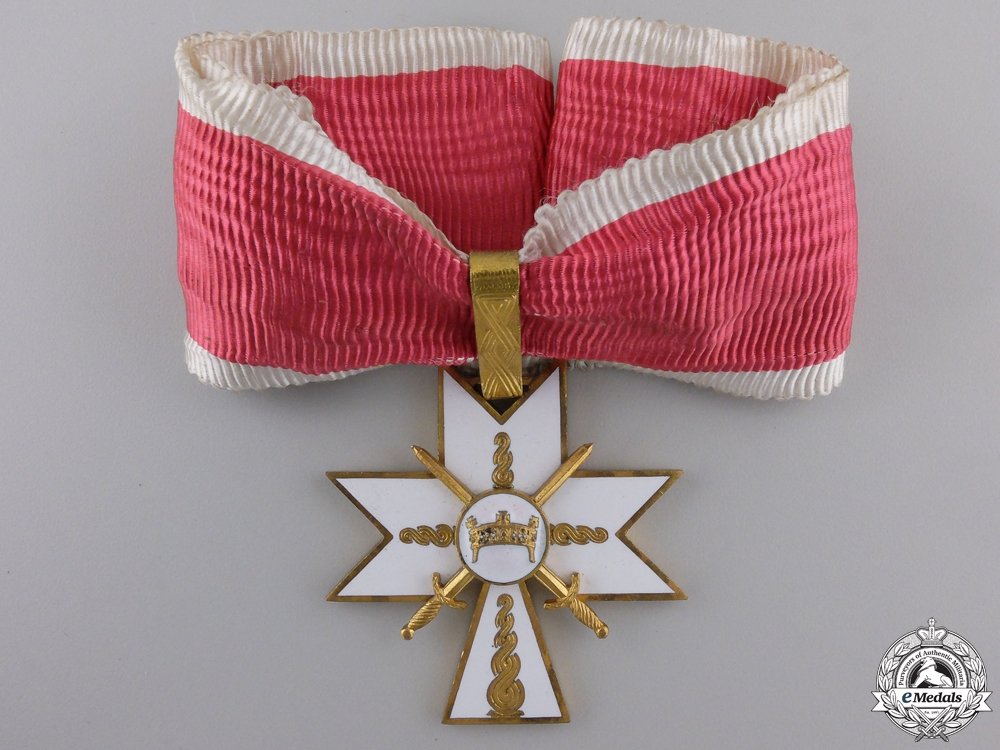 eMedals-A Croatian Order of King Zvonimir 1941-45; 1st Class with Swords