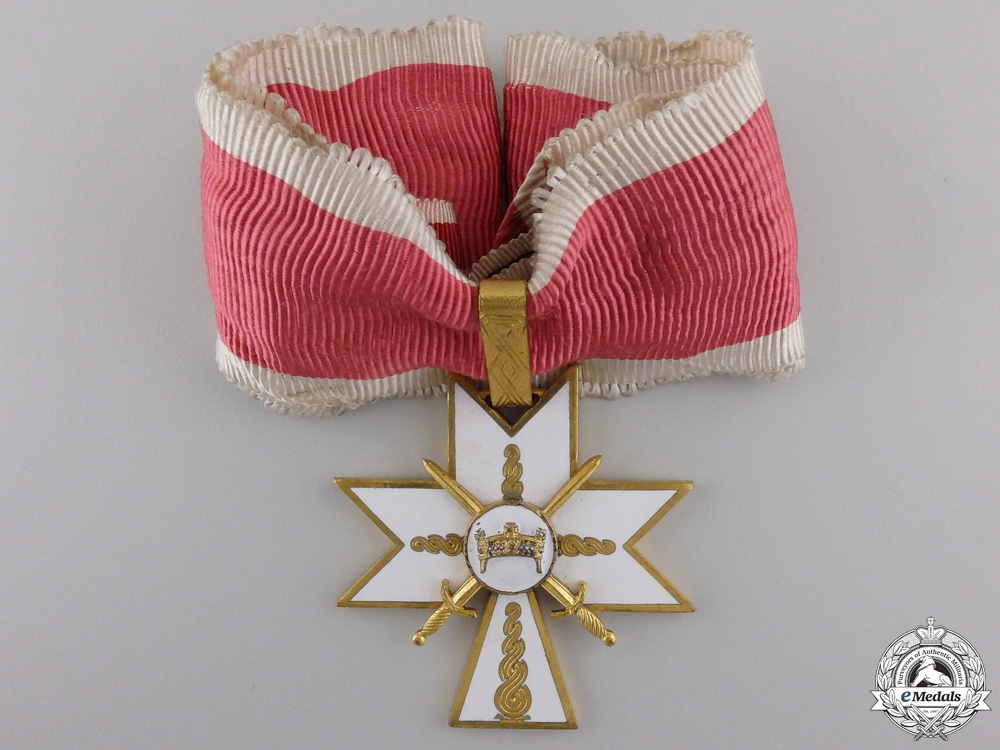 eMedals-A Croatian Order of King Zvonimir with Swords; First Class