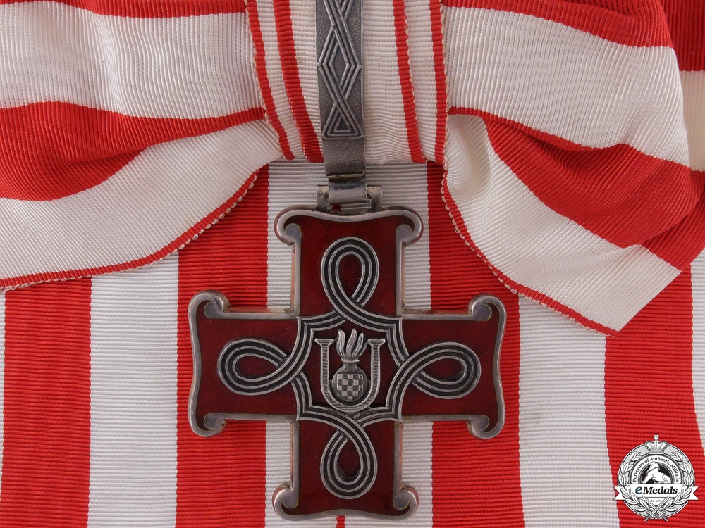 eMedals-A Croatian Order of Merit; Grand Cross
