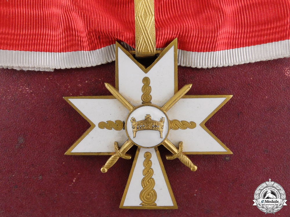 eMedals-A Croatian Order of King Zvonimir; Military Division 1st Class with Case