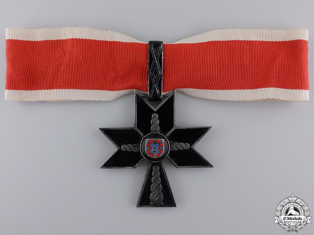 eMedals-A Croatian Order of Iron Trefoil; First Class