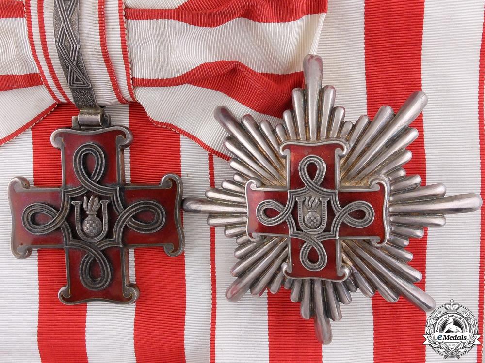 eMedals-Croatia. A Croatian Order of Merit; Grand Cross