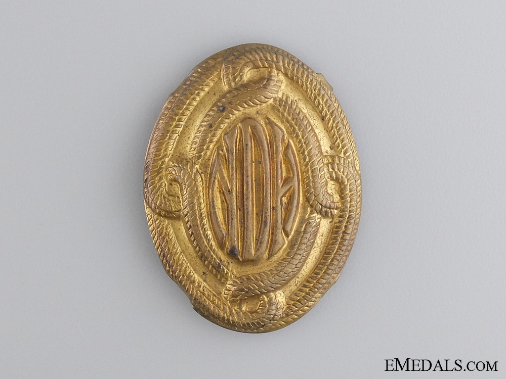 eMedals-A Croatian Second War Home Army Cap Badge