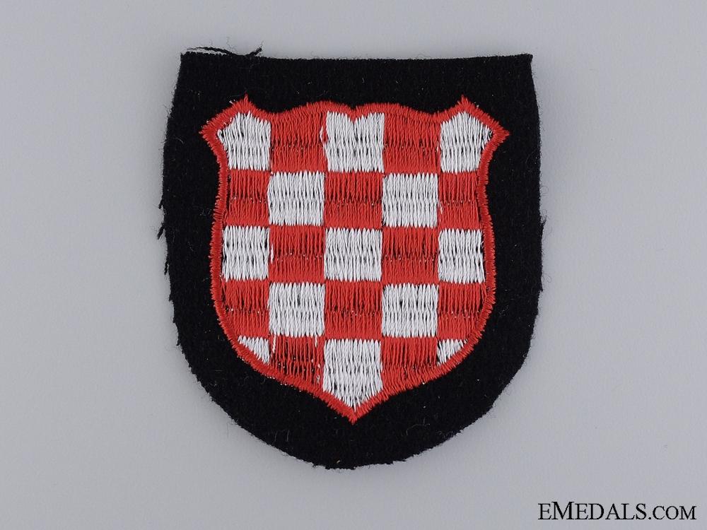 eMedals-A Croatian SS Volunteer Sleeve Shield