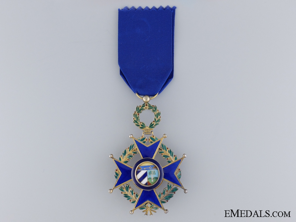 eMedals-A Cuban Order of Military Merit; Officer's Cross; Third Class