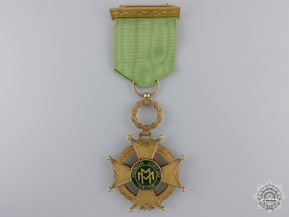 eMedals-A Cuban Order of Military Merit; Fourth Class Cross