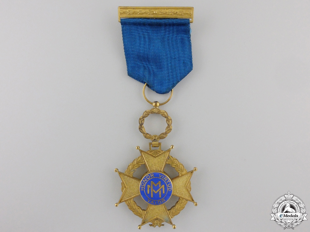 eMedals-A Cuban Order of Military Merit; Fourth Class Knight Cross