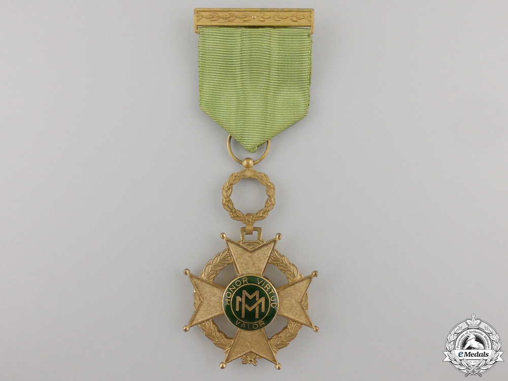 eMedals-A Cuban Order of Military Merit; Fourth Class