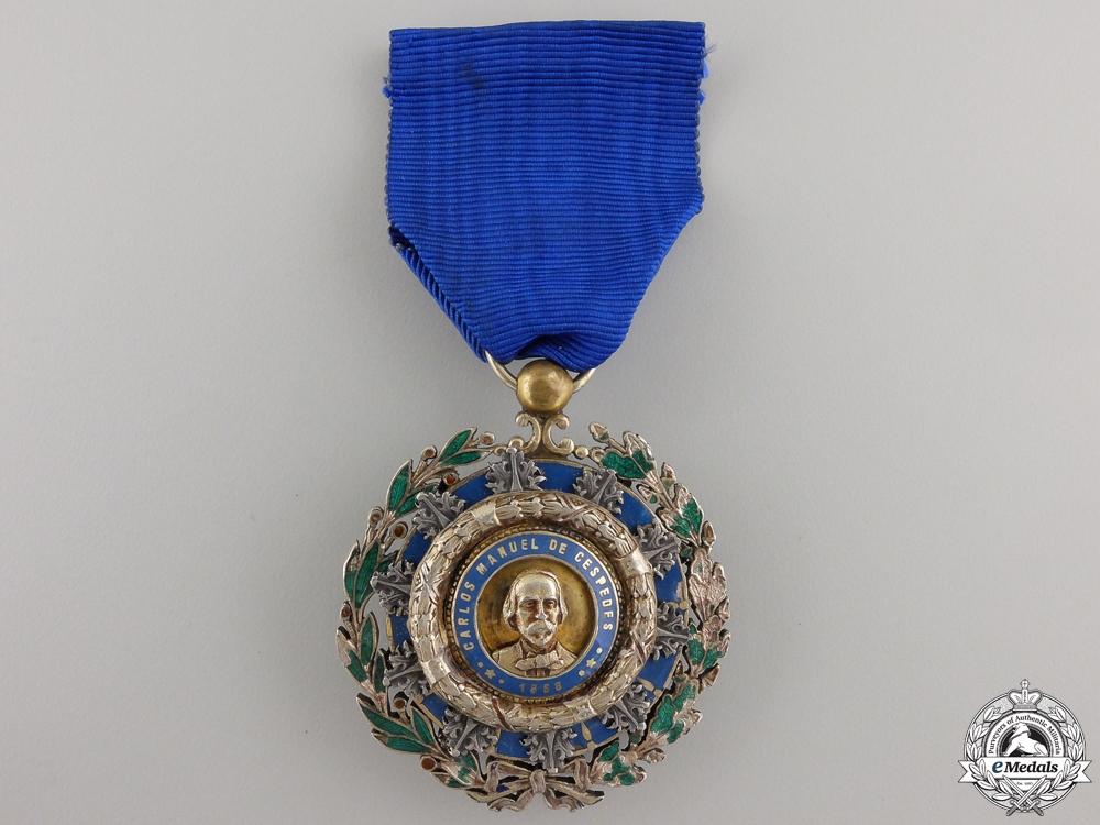 eMedals-A Cuban Order of Carlos Manual Cespedes; Knight