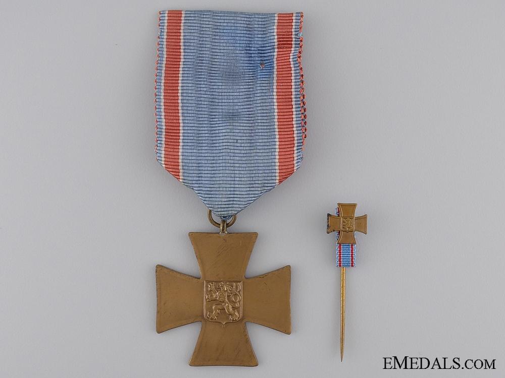 eMedals-A Czech Volunteer Cross for 1918-1919