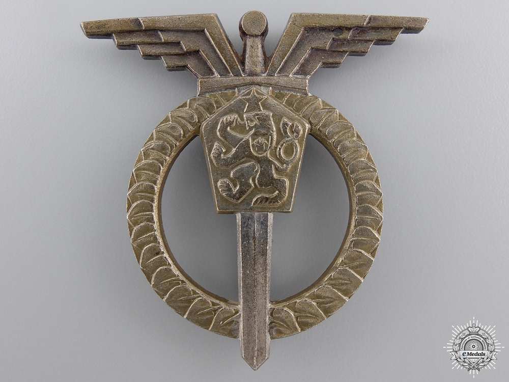 eMedals-Czechoslovakia, Socialist Republic. An Air Force Navigator Badge, III Class