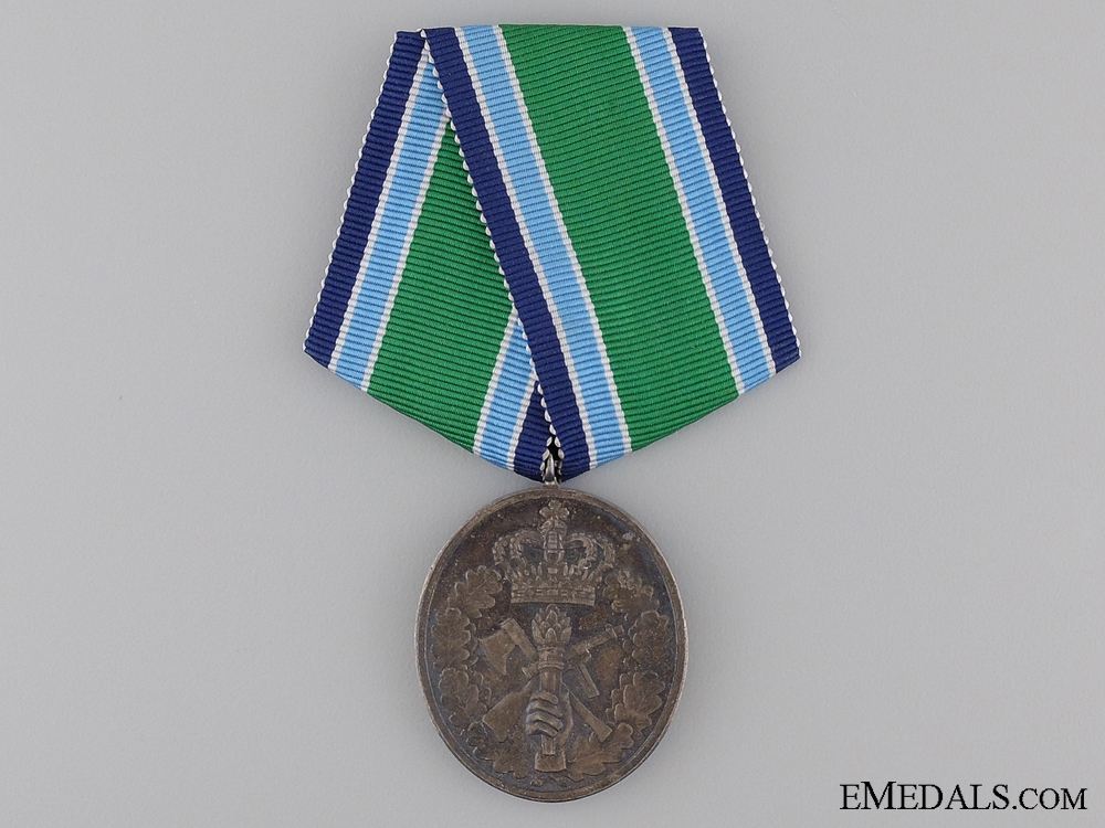 eMedals-A Danish Home Guard Service Medal for Twenty Five Years Service