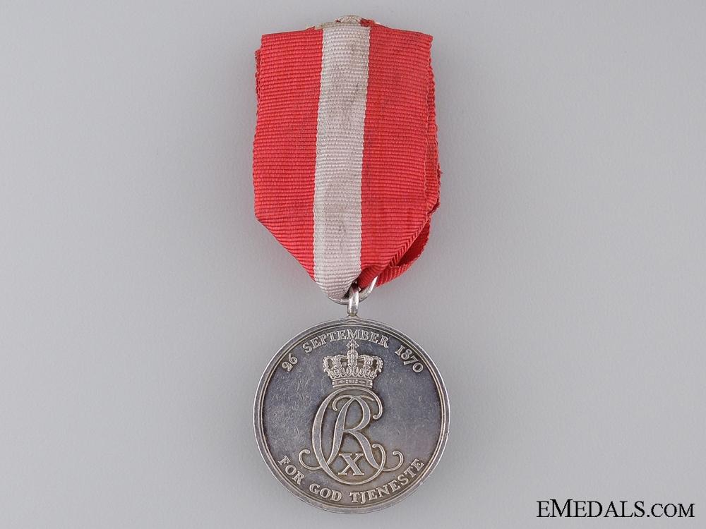 eMedals-A Danish Long Service Medal