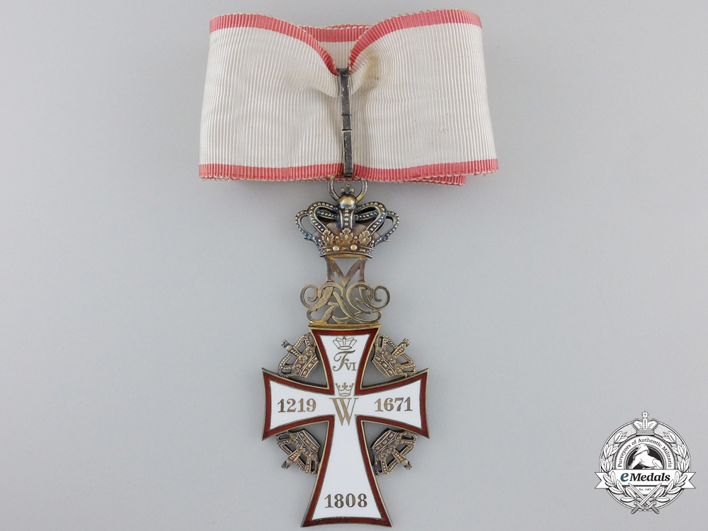 eMedals-A Danish Order of the Dannebrog; 2nd Class Commander