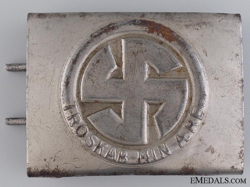 eMedals-A Ultra Rare Danish Schalburg Corps Belt Buckle