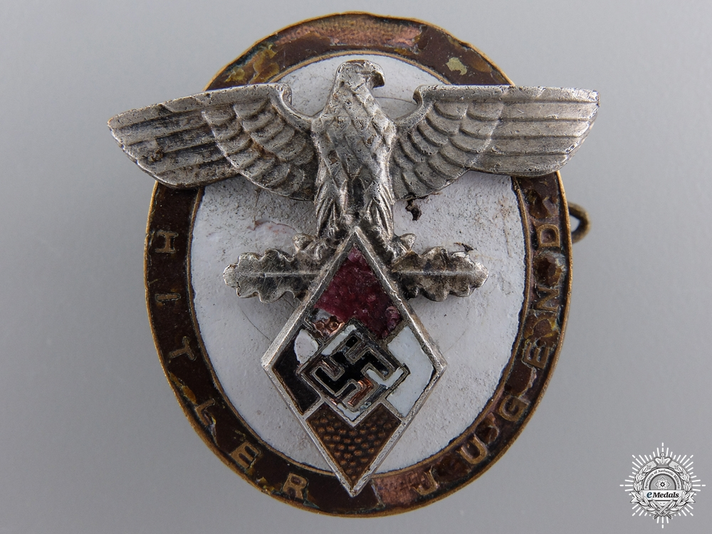eMedals-A Decoration of the High Command of the H.J.; For Foreigners