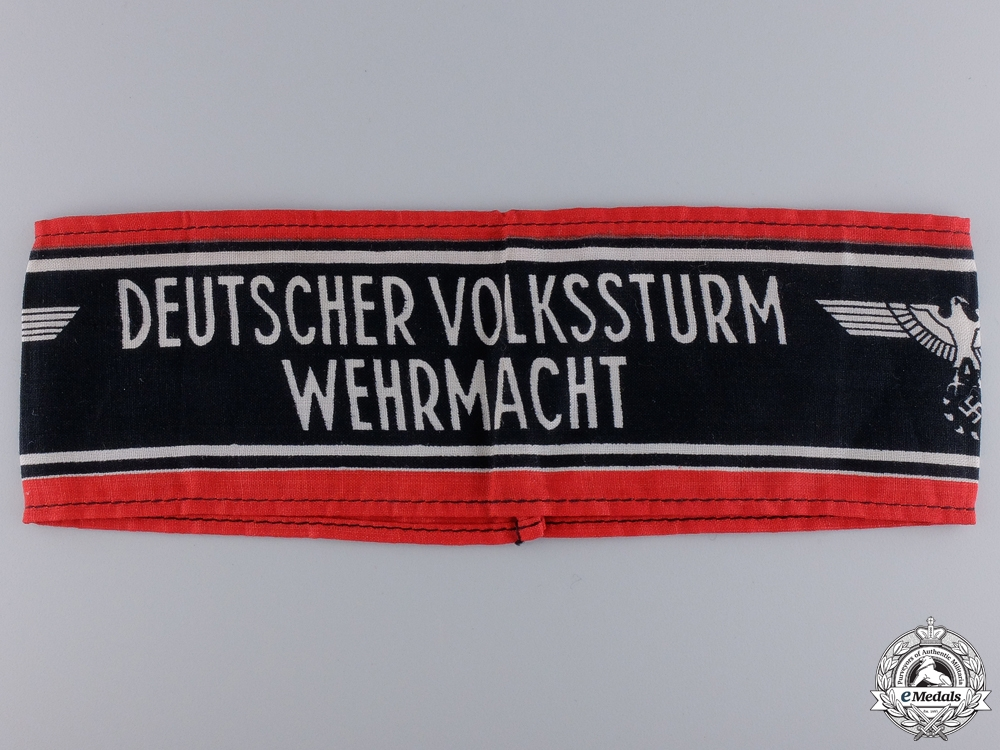 eMedals-A Deutscher Volksstrum Wehrmacht Armband