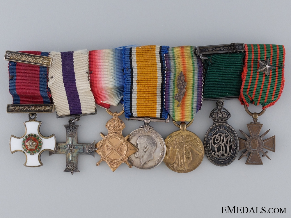 eMedals-A Distinguished Service Order Miniature Group of Seven