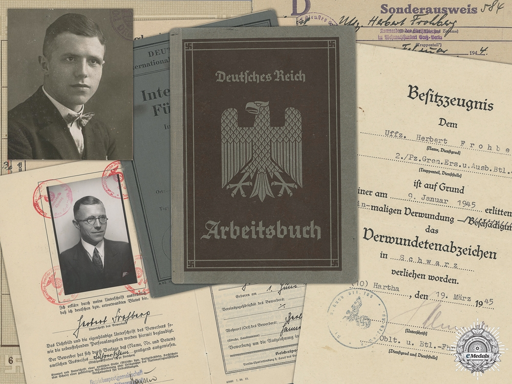 eMedals-A Document Group to the 2nd Panzergrenadier Regiment