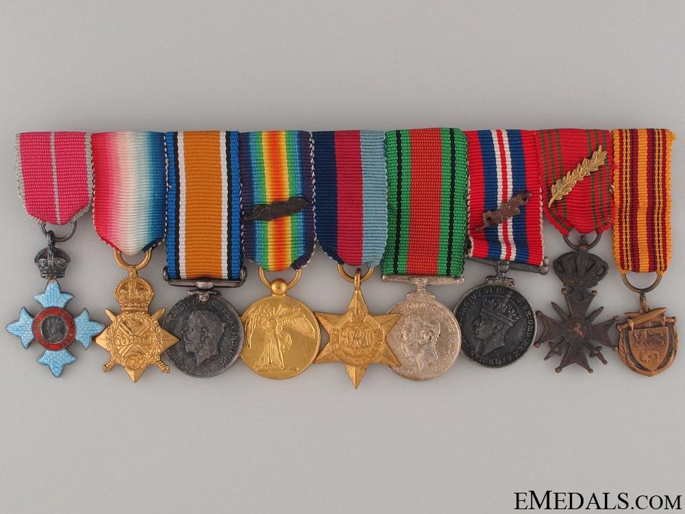 eMedals-A Dunkirk Medal Miniature Group
