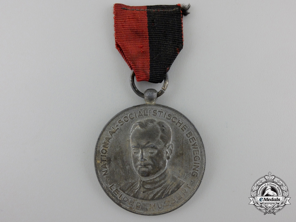 eMedals-A Dutch 1941 NSB Kerstmarch Medal