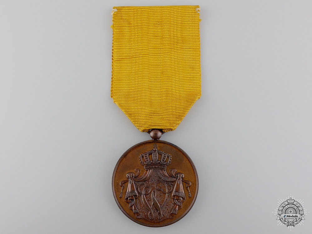 eMedals-A Dutch Army Long Service Medal: Bronze Grade
