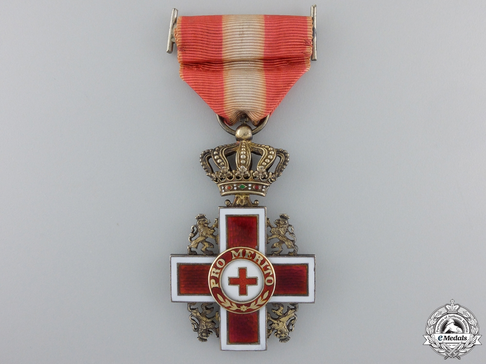 eMedals-A Dutch Cross of Merit of the Red Cross