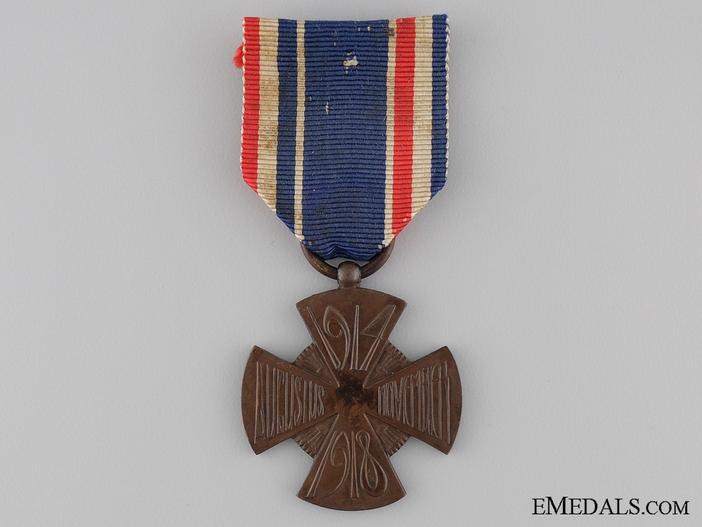 eMedals-A Dutch Mobilization Cross 1914-1918