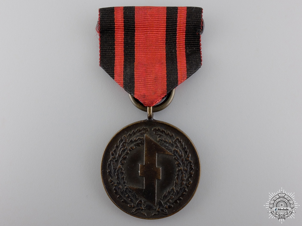 eMedals-A Dutch NSB Storm Troopers Medal 1932-1935