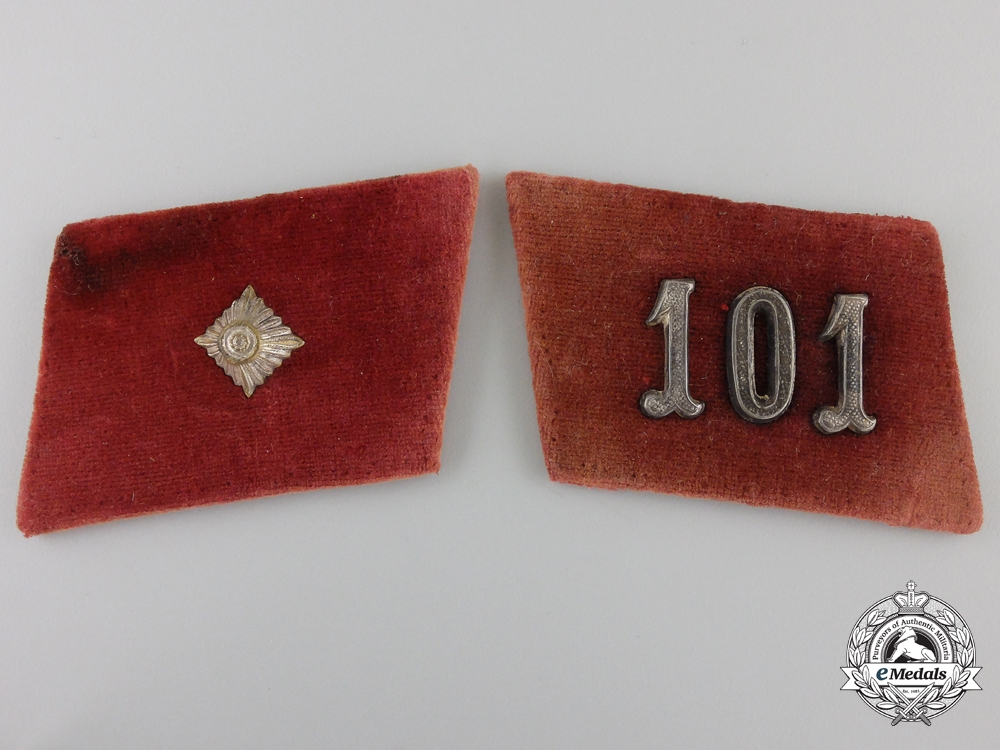 eMedals-A Early Pair of NSDAP Collar Tabs