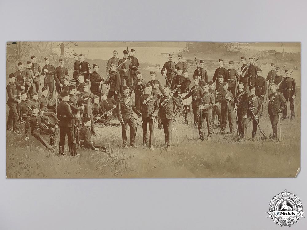 eMedals-A Fenian Raid Period Queen's Own Rifles Collage Photograph