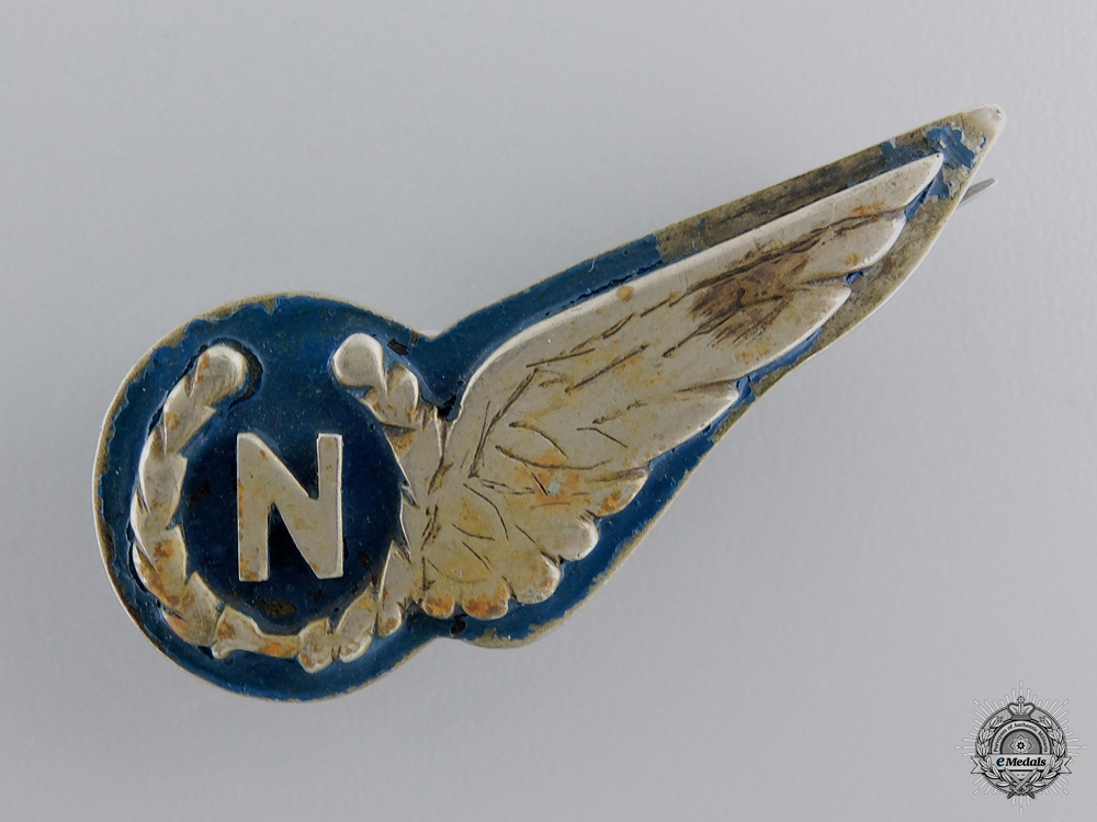 eMedals-A Field Made Tropical RAF Navigators Wing; Reduced Size