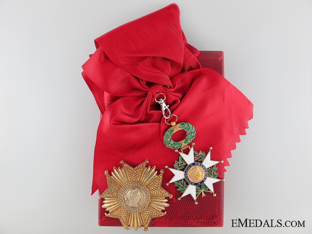 eMedals-A Fifth Republic Legion D'Honneur Grand Cross
